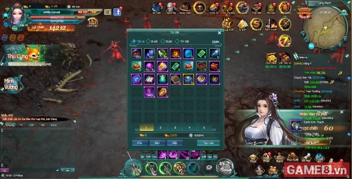 Chơi thử bản Việt hóa game online kiếm hiệp Binh Khí Phổ