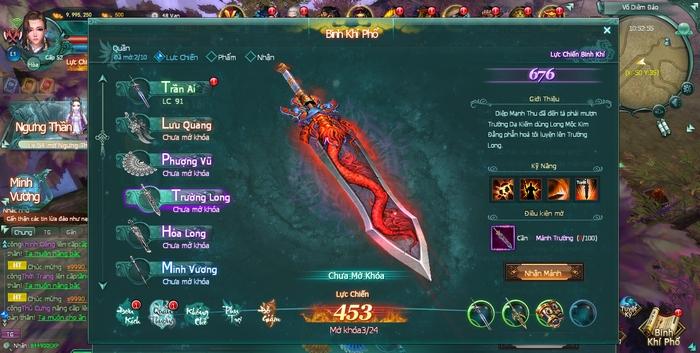 Khám phá lối chơi độc nhất vô nhị của Binh Khí Phổ - siêu phẩm kiếm hiệp sẵn sàng công phá thị trường