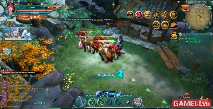 Soi game kiếm hiệp khủng Binh Khí Phổ trong ngày đầu ra mắt tại Việt Nam