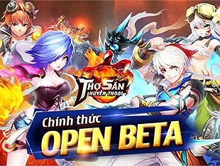 Tặng 300 Giftcode Thợ Săn Huyền Thoại mừng ngày Open Beta