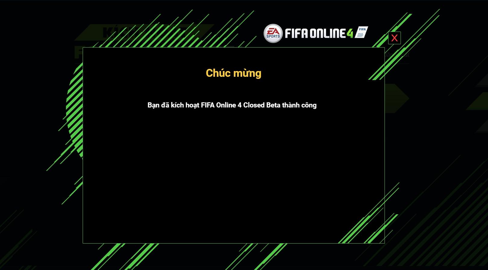 Cơ hội vàng để sở hữu key closed beta FIFA Online 4 Việt Nam!