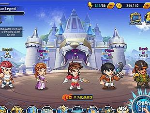 Hesman Legend - Game mobile chuyển thể từ truyện tranh Dũng Sĩ Hesman sẽ ra mắt vào đầu tháng 6
