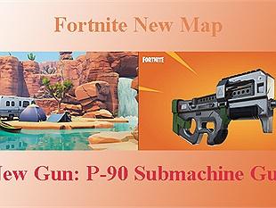 """Rò rỉ thông tin game Fortnite sẽ có thêm bản đồ mới cùng khẩu súng huyền thoại P-90 phong cách """"rush b cyka blyat"""""""