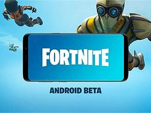 """Fortnite Mobile gửi lời mời tham gia Beta đến những người chơi """"không - dùng - Samsung"""""""