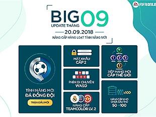 FIFA Online 4: Chi tiết bản Big Update tháng 9 của FIFA Online 4