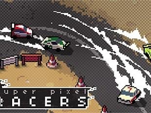 Trở về tuổi thơ Pixel game với Super Pixel Racers siêu ngộ nghĩnh