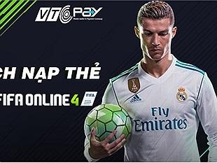 Thử ngay bí kíp nạp thẻ Garena FIFA Online 4 tiết kiệm siêu cấp vô địch đến từ VTC Pay
