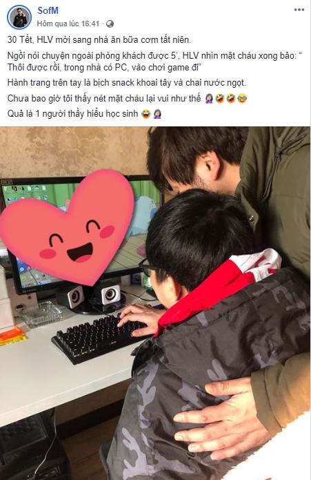 Không thể về Việt Nam ăn tết, SofM ăn tết cùng dàn máy tính ngay tại nhà HLV trưởng của Snake