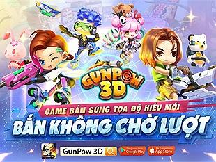 GunPow 3D chính thức công bố thử nghiệm vào tuần tới