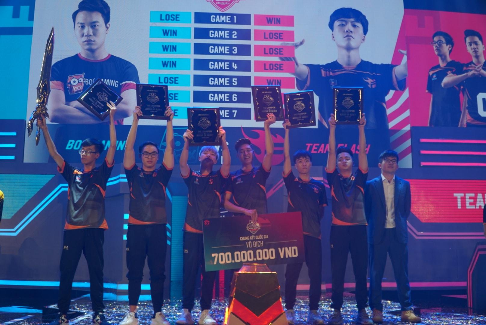 [Liên Quân Mobile] Trận chung kết ĐTDV mùa Xuân 2019 xô đổ hàng loạt kỷ lục của Esports Việt Nam