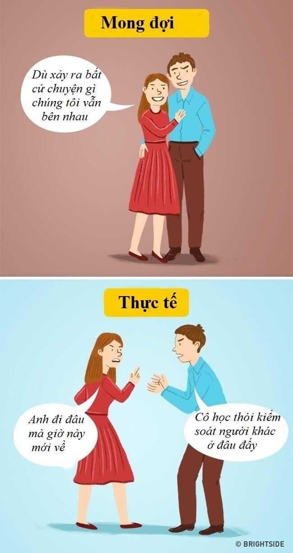 10 sự thật phũ phàng về tình yêu ai cũng sẽ phải đối mặt Marry