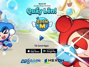 Huyền thoại trở lại: Boom M chính thức ra mắt tại Việt Nam, tặng giftcode giá trị cho tất cả game thủ