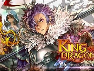 King of Dragons: Three Kingdoms có sẵn trên cửa hàng ứng dụng iOS và Android