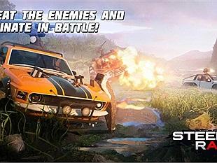 Steel Rage - game đua xe bắn súng trên di động đã sẵn sàng mở cửa cho đăng ký trước