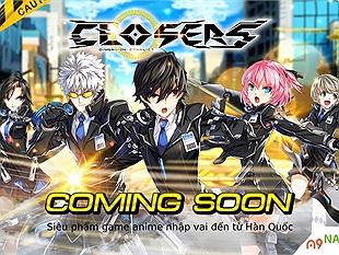 """Closers – Game anime 3D MOARPG rục rịch """"tiến công"""", công bố lộ trình ra mắt tại Việt Nam"""
