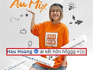 """Hậu Hoàng bén duyên Au Mix, công khai đăng đàn tuyển """"ý trung nhân"""""""
