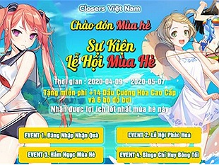 Closers – Bạt ngàn event, tặng giftcode khủng trong tháng 4 cho người chơi