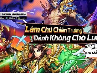 """Thiếu Niên Danh Tướng 3Q - Game thẻ tướng Tam Quốc """"đánh không theo lượt"""" sắp ra mắt game thủ Việt"""