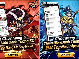 Thiếu Niên Danh Tướng 3Q: Tựa game đáng chơi do App Store và Google Play cùng lúc đề cử
