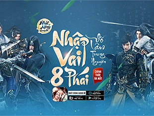 Game kiếm hiệp nhất phẩm - Nhất Mộng Giang Hồ chính thức ra mắt, tặng 1000 Giftcode