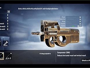 Thông tin chi tiết về khẩu P90 trong PUBG Mobile - một khẩu SMG cực mạnh