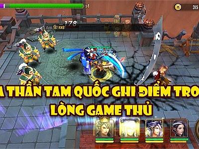 Vừa ra mắt, Ma Thần Tam Quốc đã ghi điểm với cộng đồng game thủ bởi những lý do cực đơn giản