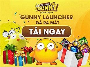Gunny Launcher giữ nguyên thông tin tài khoản người chơi từ bản webgame, sẵn sàng tải về từ 12/11