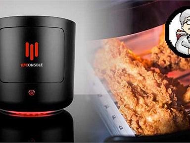 Là game thủ mê gà rán, KFConsole có lẽ chính là hệ máy trong mơ dành cho bạn