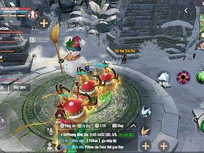 Đón Lễ Hội Băng cùng game thủ Perfect World VNG