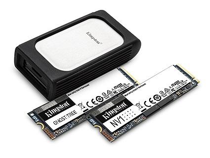 CES 2021: Kingston Hé Lộ Dòng Sản Phẩm SSD NVMe thế hệ Mới Và Ra Mắt Bộ Chuyển Đổi Lõi Kết Hợp Cùng Đầu Đọc