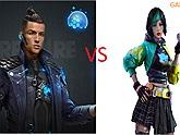 """So sánh khả năng của 2 nhân vật mạnh mẽ trong Free Fire: """"Ronaldo"""" Chrono và Steffie, ai hơn ai ?"""
