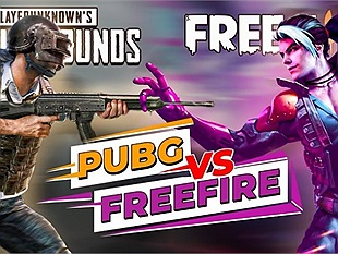 Game nào hay nhất thế giới, PUBG Mobile hay Free Fire?