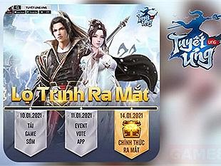 Tuyết Ưng VNG - MMORPG đồ họa 4K trên mobile công bố lộ trình ra mắt tại Việt Nam