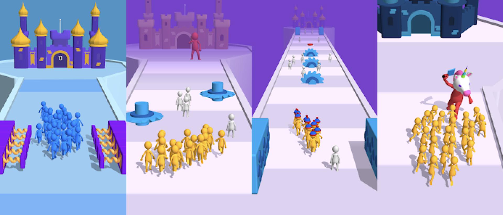 Among Us đánh mất top 1 tựa game mobile download nhiều nhất thế giớí, vị trí dẫn đầy thuộc về tựa game: Join Clash 3D mobile