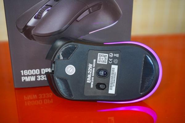 Trải nghiệm EM622W, chuột gaming không dây tốt nhất E-Dra từng sản xuất