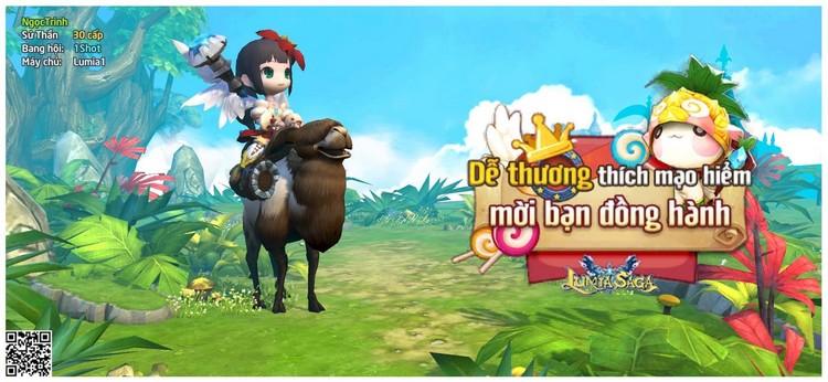 Lumia Saga chính thức ra mắt và tặng hàng ngàn giftcode siêu khủng cho game thủ Việt Nam