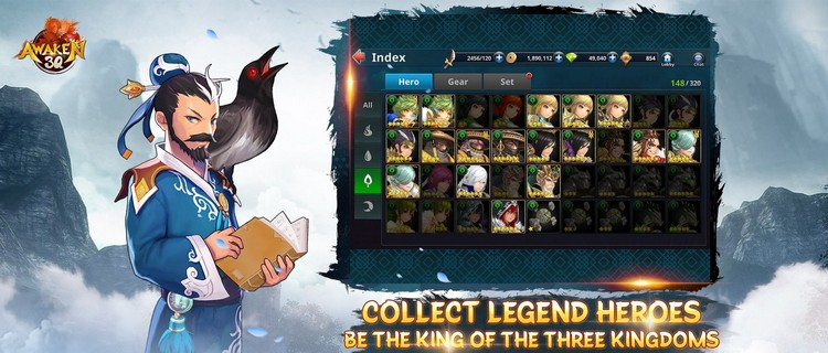 Nhanh tay nhận ngay Giftcode Awaken 3Q mừng game ra mắt tại Việt Nam