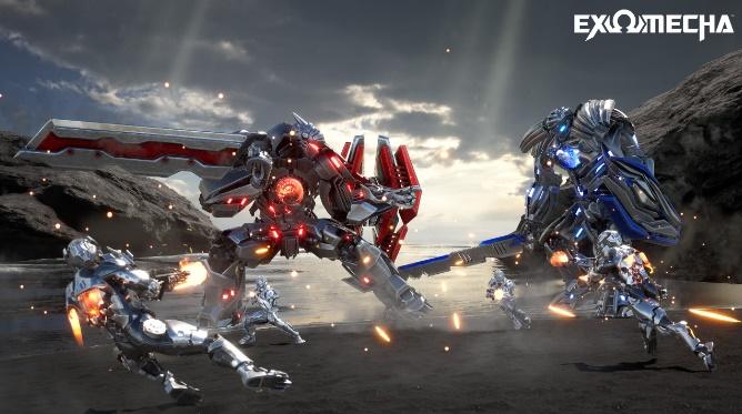 EXOMECHA - Game bắn súng hành động FPS vừa hé lộ những hình ảnh gameplay cực chất