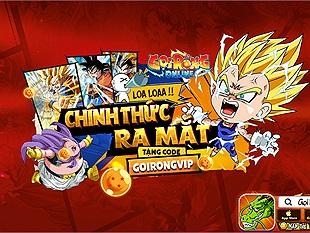 Nhanh tay nhận ngay Giftcode Gọi Rồng Online mừng game ra mắt tại Việt Nam