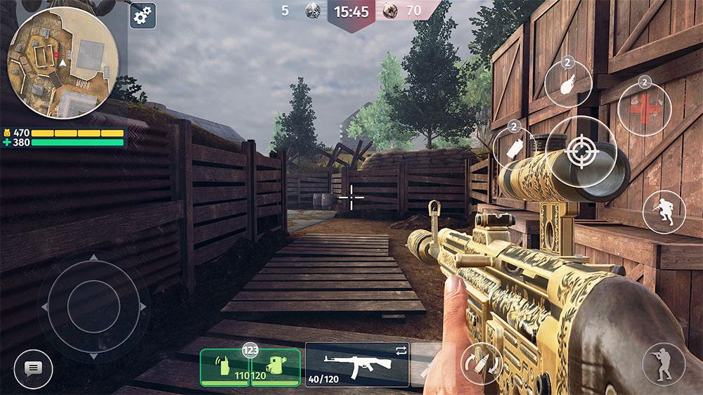 World War 2 Battle Combat Tựa game mobile FPS hành động