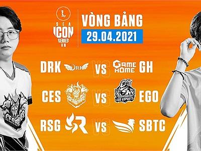 ICON Series SEA Mùa Hè: Kết quả thi đấu ngày 29/04, RSG tiếp tục gây thất vọng
