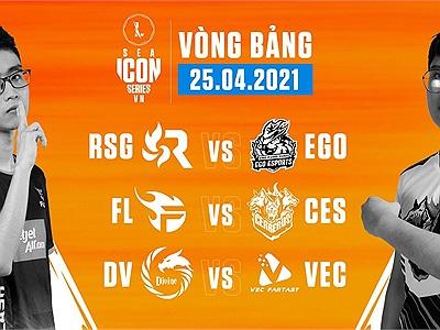 ICON Series SEA Mùa Hè 2021: Kết quả ngày thi đấu 25/04, EGO có chiến thắng đầu tiên ở mùa giải