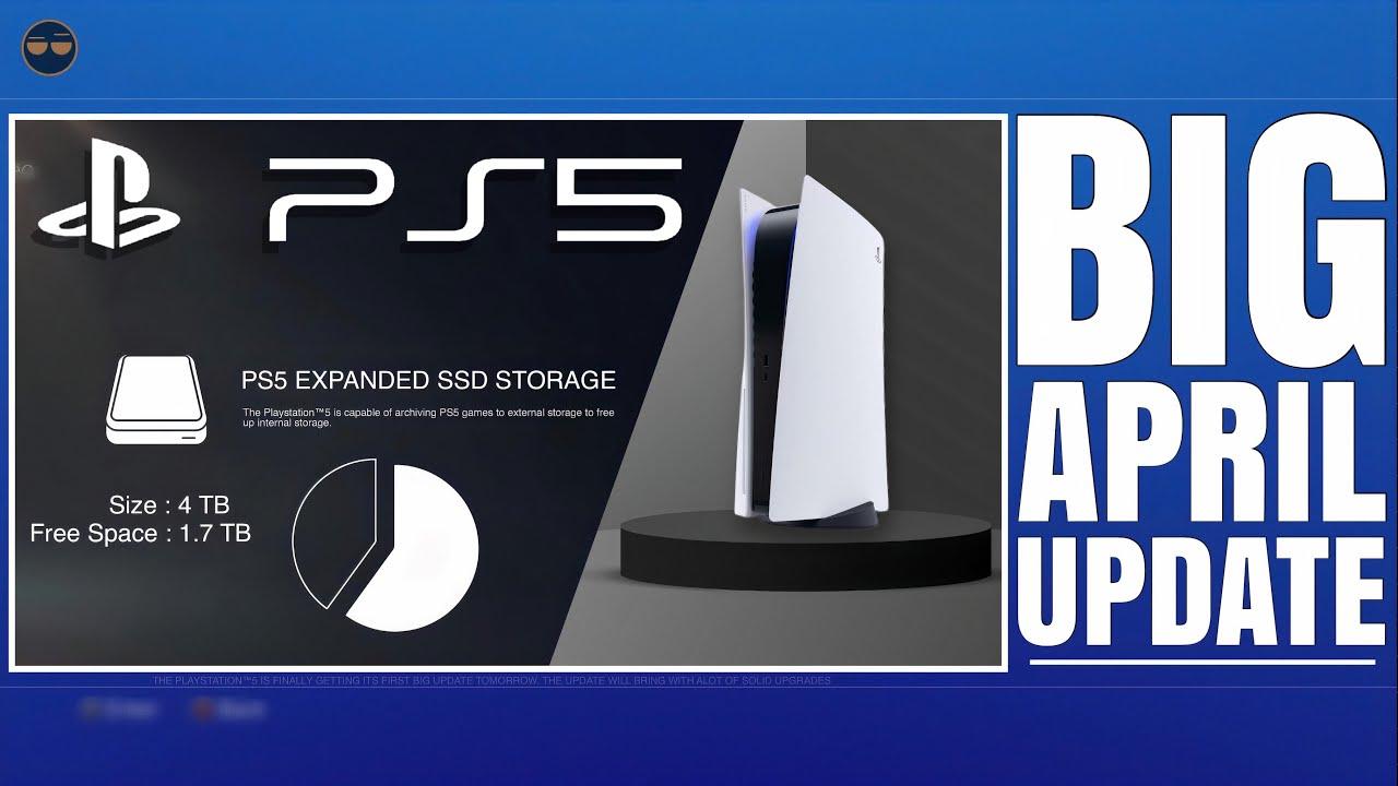 Sony tung ra bản cập nhật PS5 lớn nhất từ trước tới nay