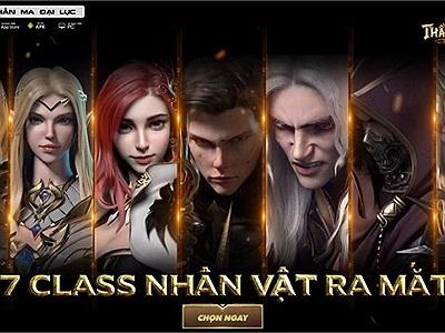 Tổng quan 7 lớp nhân vật trong Forsaken World: Thần Ma Đại Lục