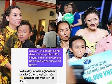 Phi Nhung hé lộ cơ duyên nhận nuôi Hồ Văn Cường cách đây 5 năm, từng phải nhắn tin nhờ một nữ ca sĩ mới liên hệ được