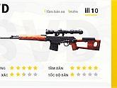 Free Fire: Top 3 khẩu súng trường bắn tỉa đỉnh nhất mà game thủ hay chơi.
