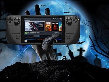 Steam Deck: Thiết bị chơi game cầm tay mới của Valve