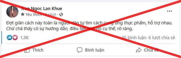 Lan Khuê đăng vội bài xin lỗi ngay trong đêm sau khi khiến dân tình phẫn nộ về status nói đến cứu trợ dịch tại TP.HCM