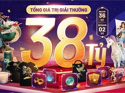 Tổng giải thưởng lên đến 38 tỷ đồng, game thủ có thể nhận được gì khi tham gia Võ Lâm 102?