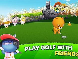 Soi nhanh Friends Shot: Golf for All - Game mobile đề tài chơi gôn đến từ KaKao Friends